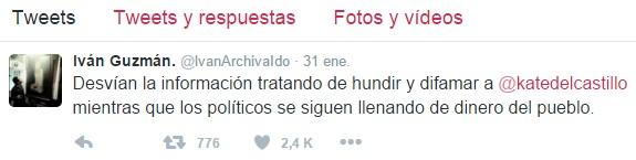 Supuesto Hijo De El ChapoSale A Defender A Kate Del Castillo