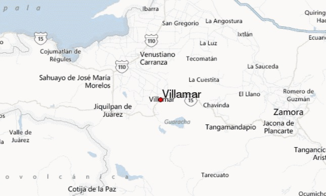 villamar  mapa