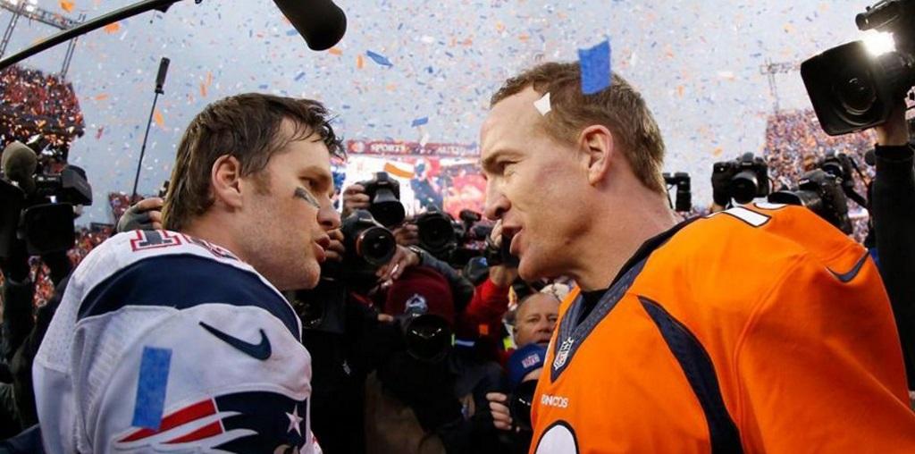 Tom Brady y Peyton Manning NFL