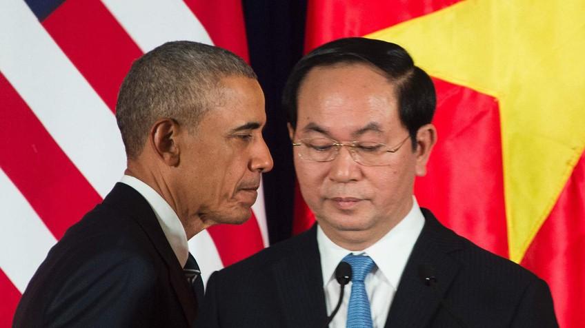 obama y Tran Dai Quang
