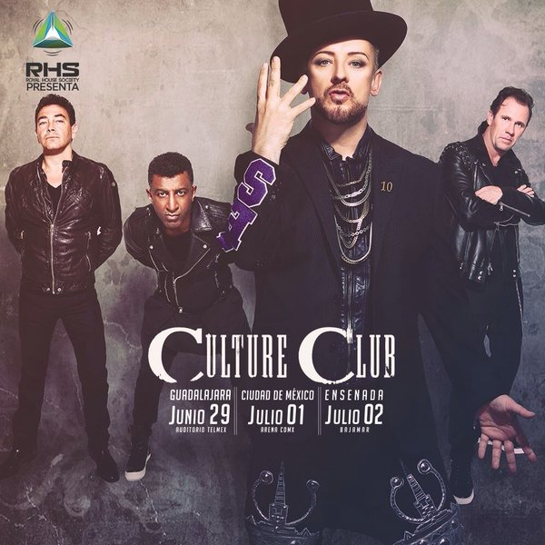 Culture Club 3 fechas Mexico