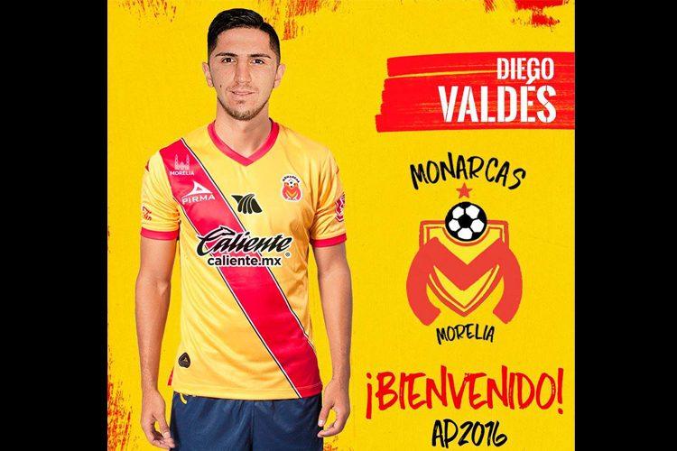 El-Chileno-Diego-Valdés-Llegara-a-Reforzar-A-Monarcas-Morelia.
