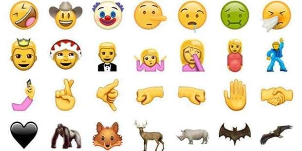 emojis unicode 9-0 whatsapp