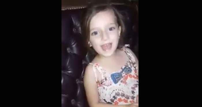 Explosión interrumpe el canto de niña siria