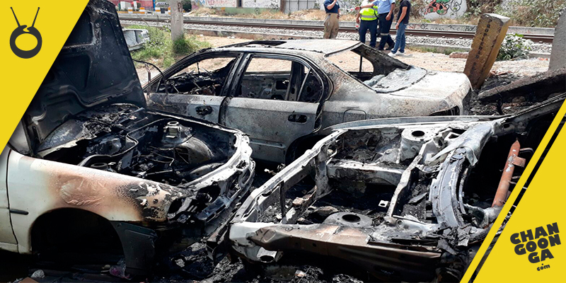 arden-tres-vehículos-Jacarandas-Morelia