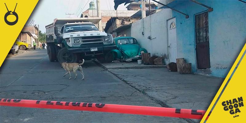 hombre-atropellado-camión-de-basura-Morelia