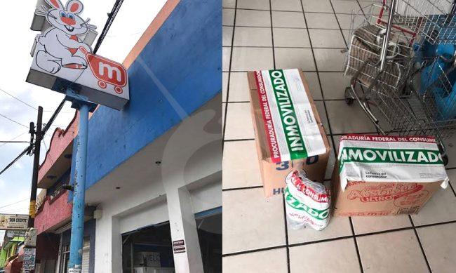 MERZA Morelia-alimentos caducos