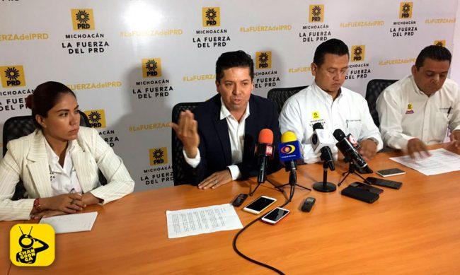 rueda-de-prensa-PRD-Michoacan