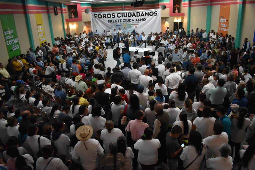 Crece la participaci n social en los foros del frente for Noticias de ultima hora espectaculos mexico