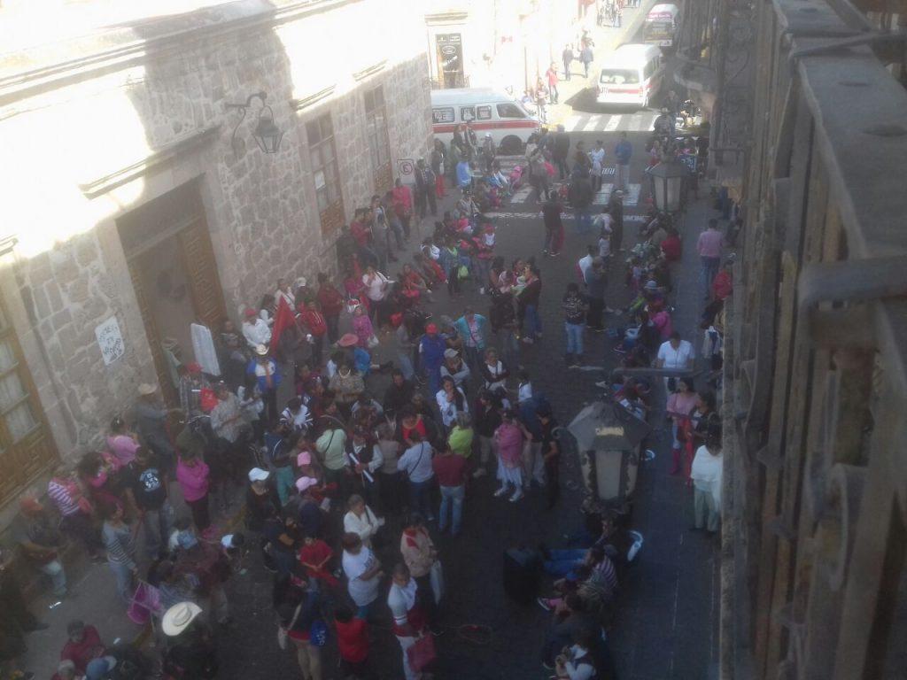 Photo of #Morelia Antorcha Bloquea Vialidad Del Ayuntamiento En Protesta Por Incumplimientos
