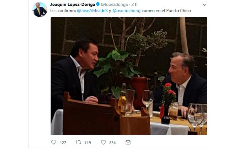 Photo of Tras Destape Por Aspirante A La Presidencia, Meade Se Reúne Con Osorio Chong