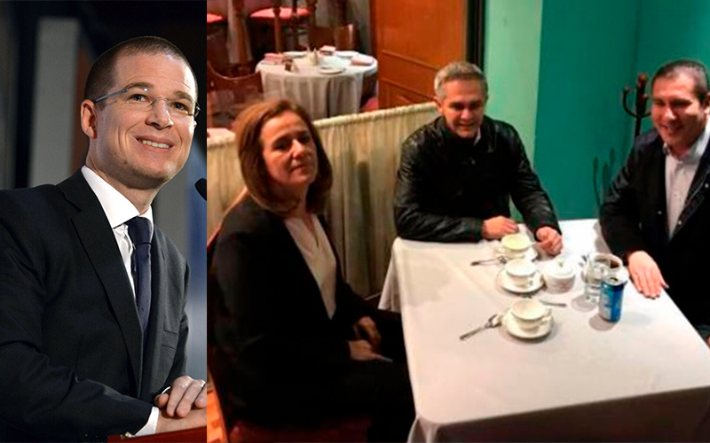 Photo of Descarta Anaya Que Reunión Zavala, Mancera Y Moreno Valle, Él No Fue Tema Central