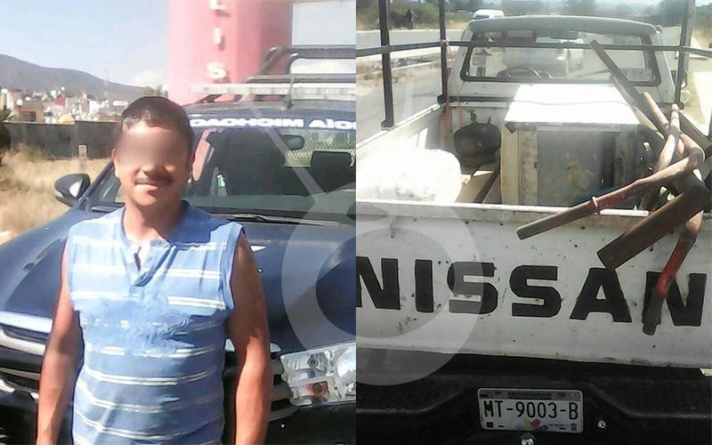 Photo of Mecánico Estaciona Mal Camioneta, Polis Detectan Que Es Robada Y Lo Detienen En Tarímbaro