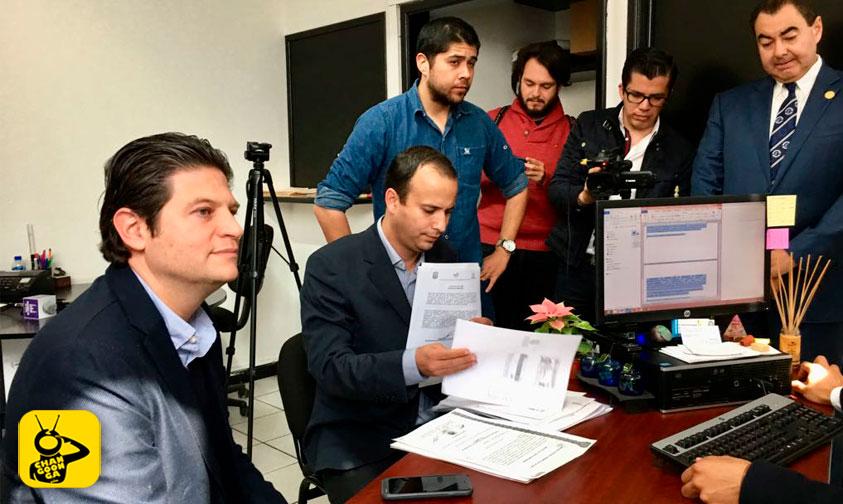 Photo of Presenta Alfonso Martínez Denuncia Ante La Procu De Michoacán