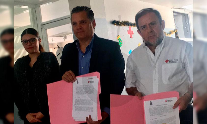 Photo of #Morelia Firman Convenio AIEMAC Con La Cruz Roja Para Capacitar A Trabajadores