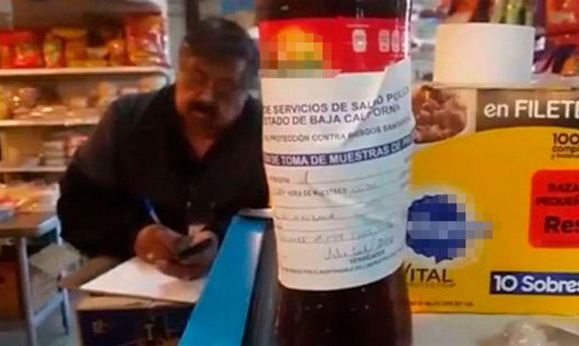 Photo of #Mexicali Confirma PGJE Que Sí Contenía Droga El Refresco Sabor Manzana