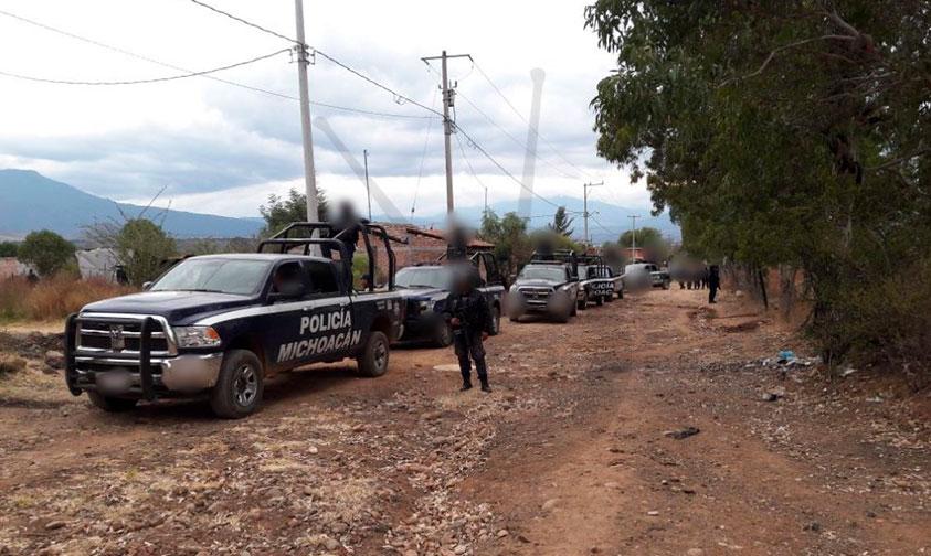 Photo of Polis Michoacán Liberan A Persona Secuestrada Y Captura A 6 Implicados En Tangancícuaro