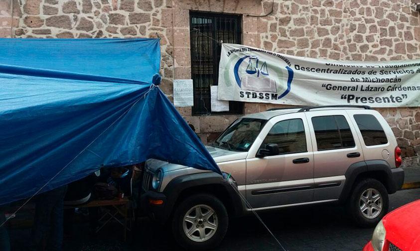 Photo of Promete STDSSM No Cesar Toma Hasta Recibir Salario Y Prestaciones De Fin De Año