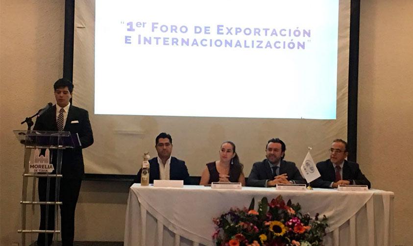 Photo of Arranca Foro Sobre Exportación E Internacionalización En Morelia