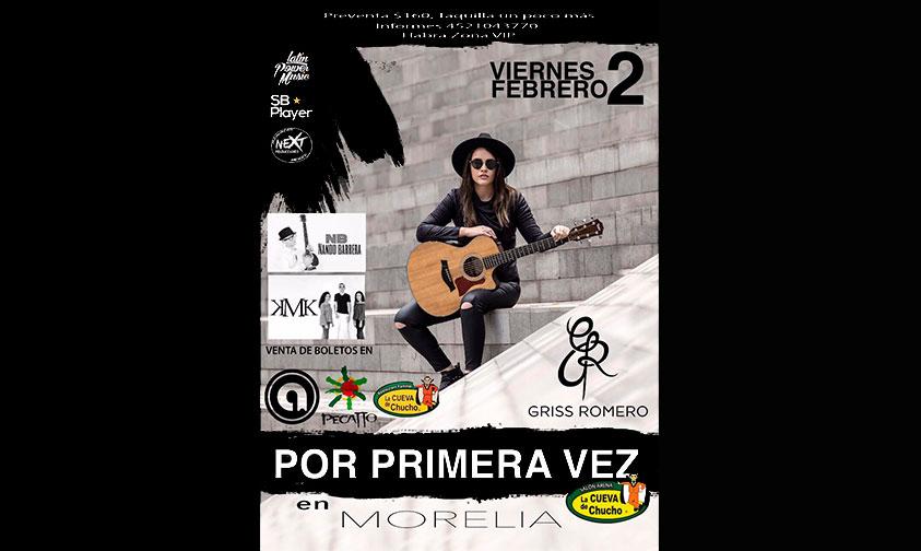 Photo of ¡Por Primera Vez! Griss Romero En Morelia