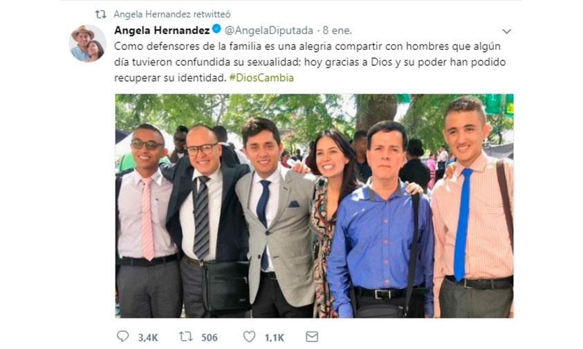 Photo of #DiosCambia Diputada Presume Haber Salvado A Jóvenes De La Homosexualidad