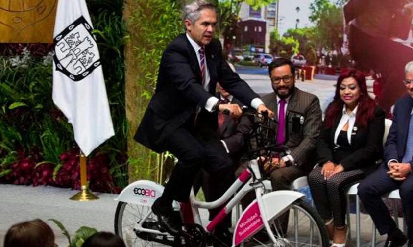 Photo of #CDMX Instalan Primera Estación Ecobici Para Unidades Eléctricas