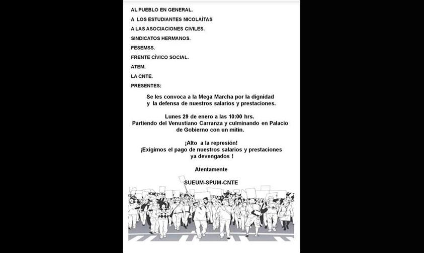 marcha-recorrido-SPUM-SUEUM-Morelia