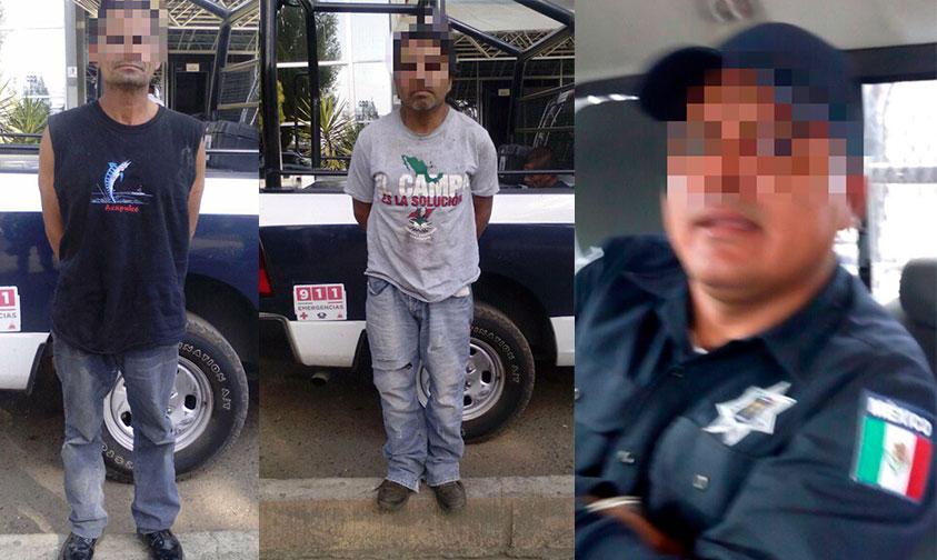 Photo of #Morelia Arrestan A Policía Y 2 Civiles Por Robo De Autoparte En Corralones