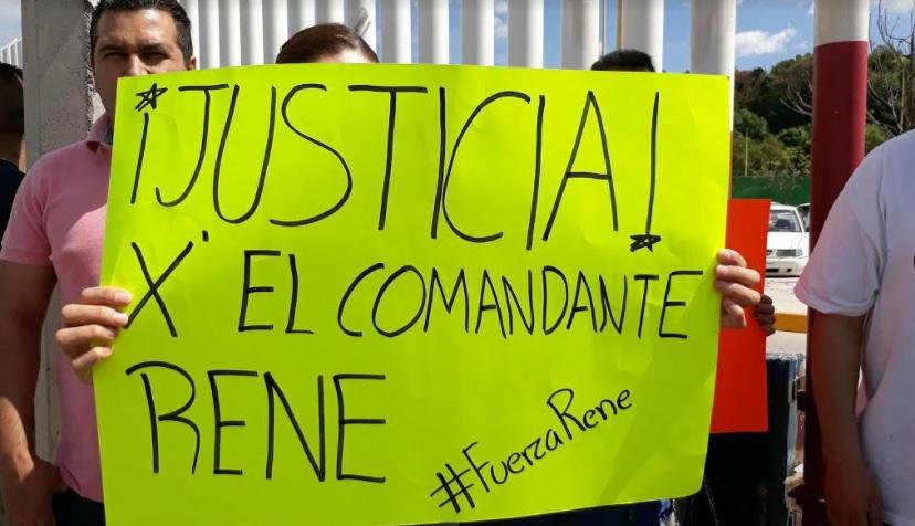 Photo of #Morelia Se Manifiestan En Pro Del Comandante René Acusado De Matar A Ratero