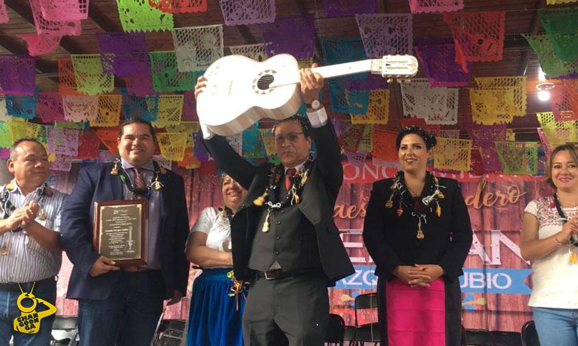 German Vazquez Rubio laudero Coco Paracho