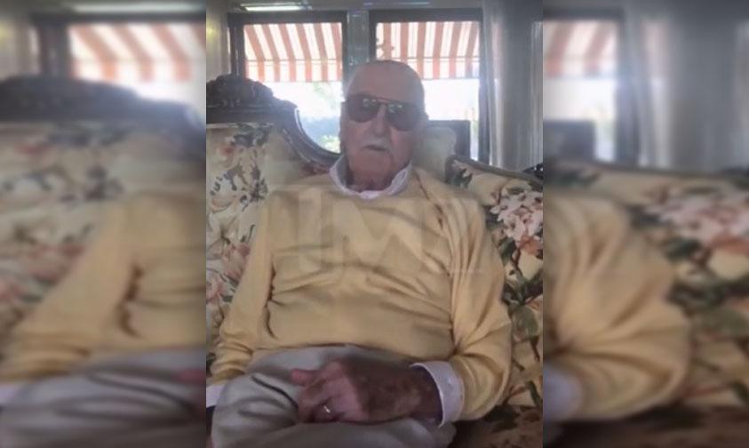 Photo of #VIDEO Revela Stan Lee Que Padece De Neumonía