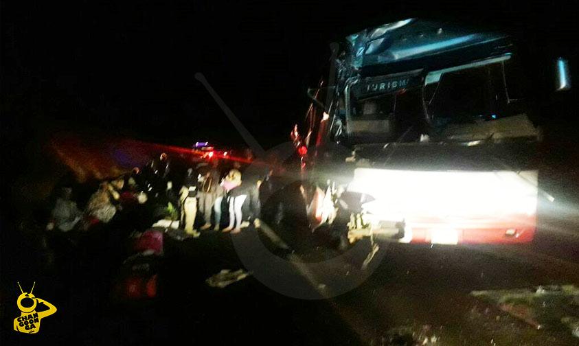 accidente autobus Salvador EScalante