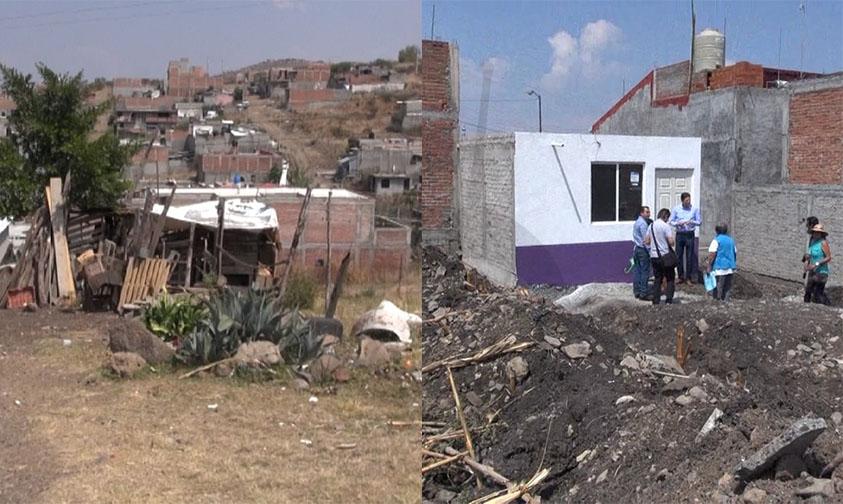 Photo of Entregan Cuartos De Concreto Para Erradicar Repartición Tejas De Cartón En Morelia