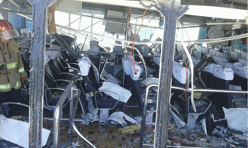 explosión Ferry Playa del Carmen