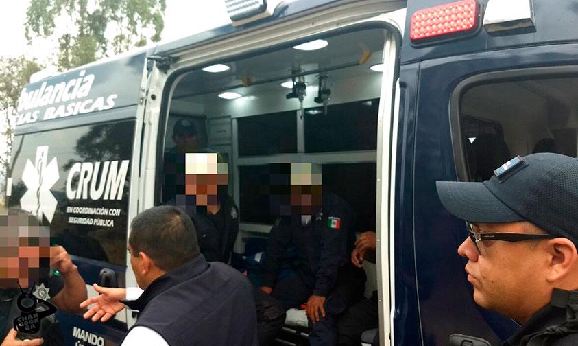"""Photo of """"Levantan"""" A 4 policías De Villa Madero Y Son Rescatados En Operativo De La SSP"""
