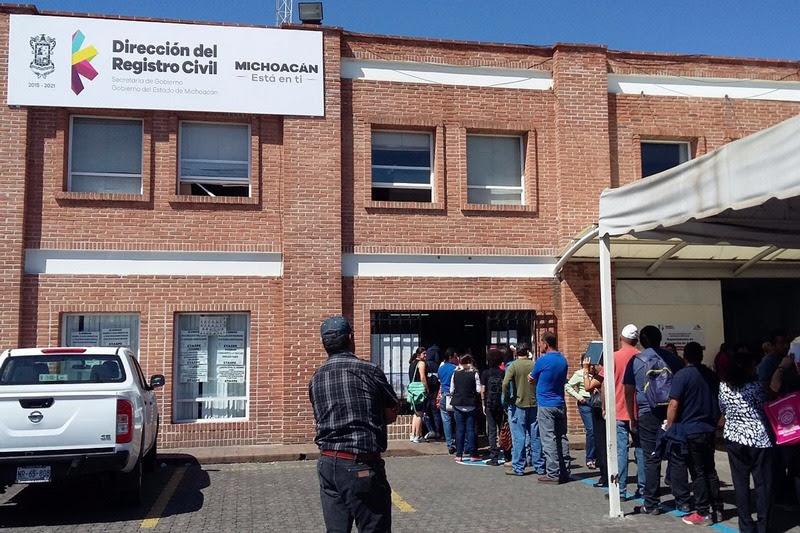 Photo of #Michoacán Registro Civil Funcionará Normal En Estas Vacaciones Santas: SeGob