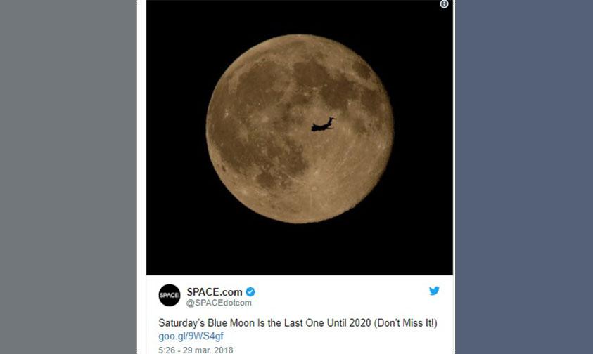Photo of ¡Mira Al Cielo Y Sonríe! Hoy La Última Luna Azul Hasta 2020