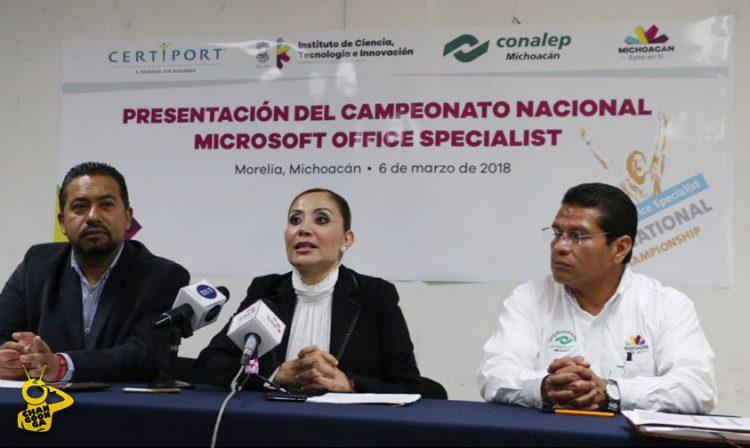 campeonato Microsoft office Morelia 2
