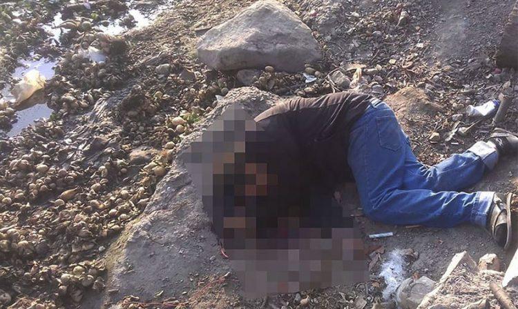 hombre muerto Matanguarán