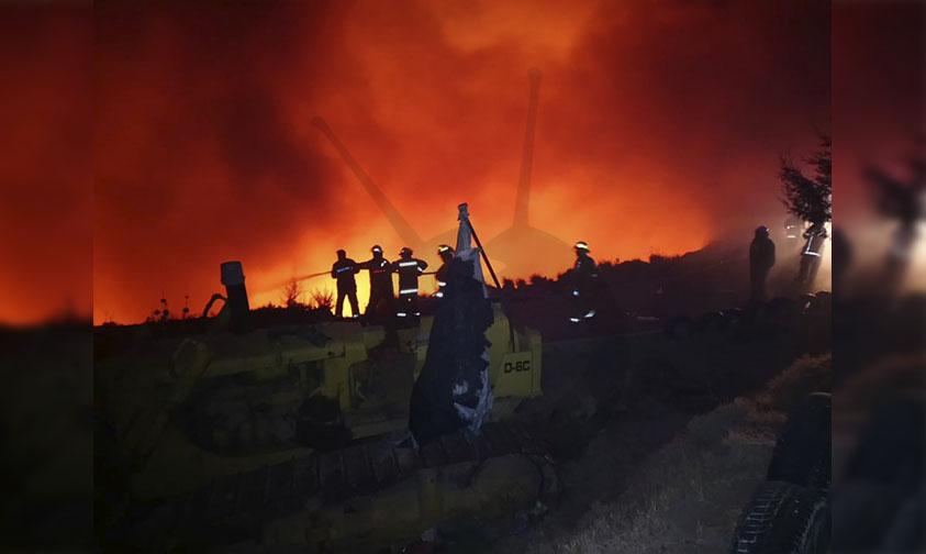 incendio basurero Maravatío