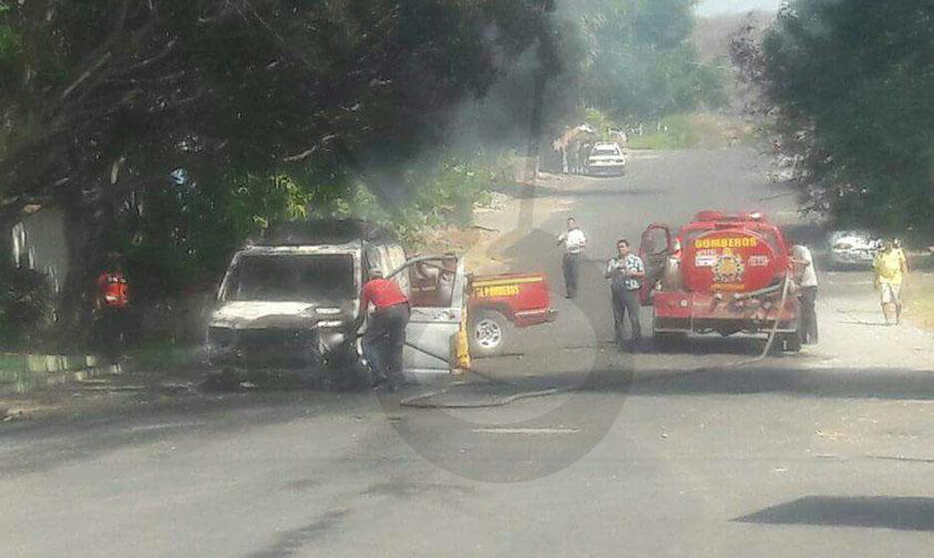 unidades quemadas Michoacán