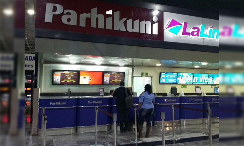 servicio transporte Parhikuni