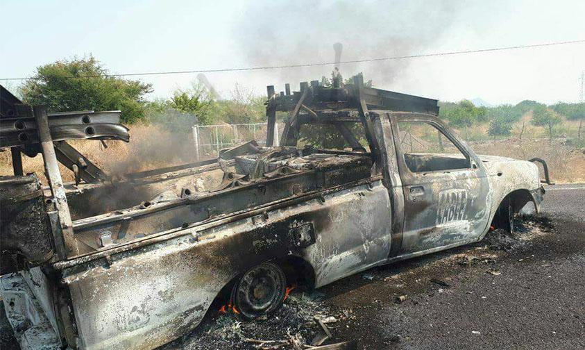 Photo of ¡Ya! Suman Al Menos 23 Vehículos Quemados En Michoacán