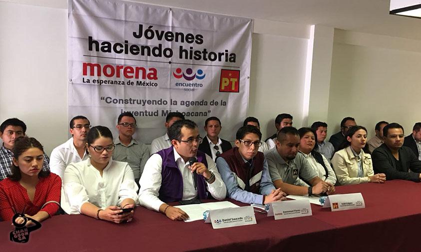 Photo of Jóvenes No Pueden Seguir Siendo Carga Equipaje Y Matraqueros De Políticos: Morena