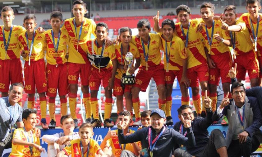 Photo of Monarcas Se Corona Campeón En El Torneo Sub-13