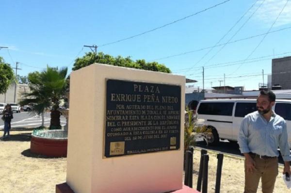 Photo of #DoBabes Inauguran La Plaza Pública 'Enrique Peña Nieto' En Jalisco