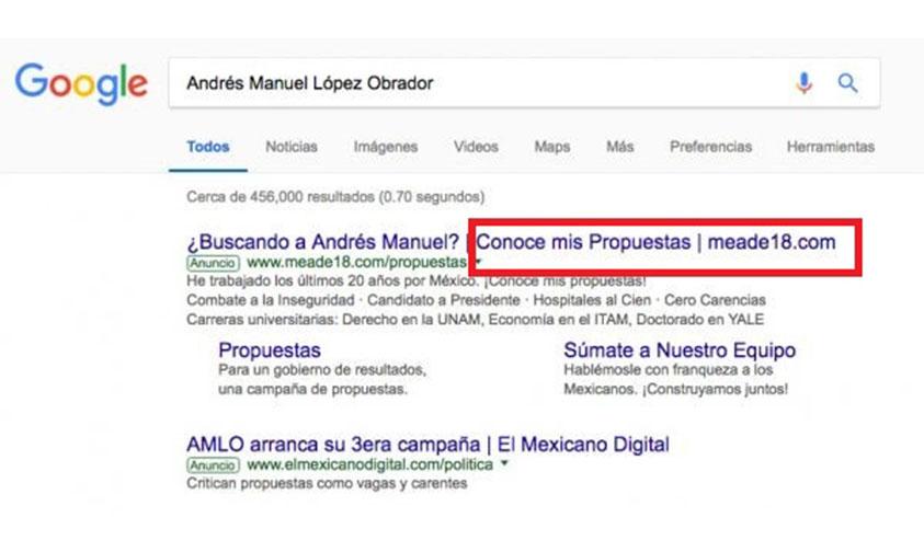 Photo of INE Valida Que Meade Pague A Google Para Ser El Primero En Búsquedas