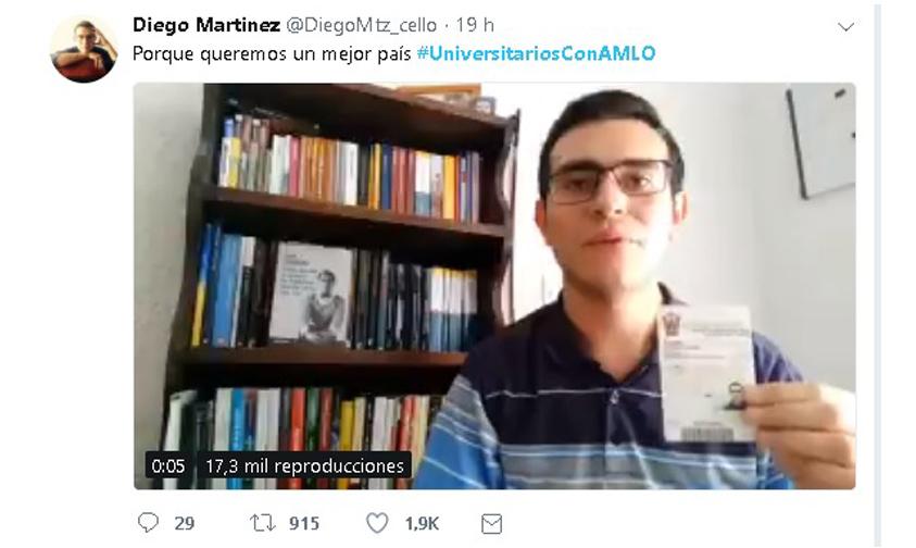 Photo of Publican Videos En Apoyo A López Obrador
