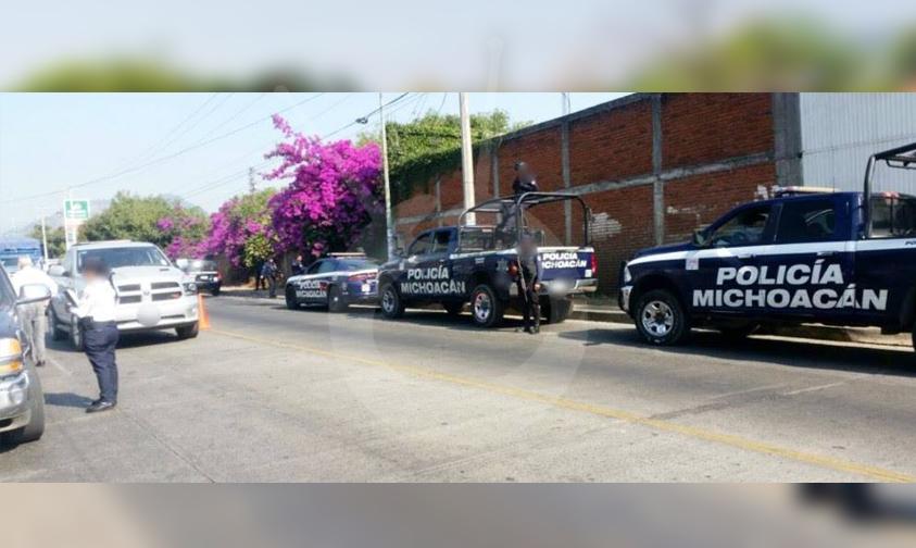 Photo of Policía Michoacán Mantiene Vigiladas Regiones Del Estado