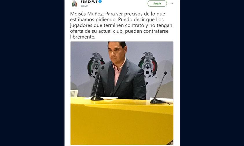 Pacto de Caballeros futbol México